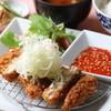 あさひ - 料理写真:チキンカツのピリ辛コチュジャンソース。平日限定のランチメニューもあります。