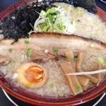 麺屋ばやし - ちょっと贅沢な醤油ら~めん(680円)
