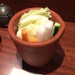串揚処 十二ヶ月 - 野菜スティック
