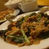 中華料理 全家福 - 料理写真:小松菜とホルモン炒め定食