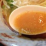 ラーメン専門店 八龍 - コッテリ辛口スープ