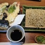 三佳 - 天ざる ¥1800(税込)