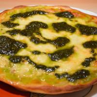 キッチンカフェ ユリシス - モッツアレラ&バジルピザ 950円