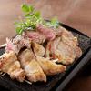 芋蔵 - 料理写真:かごしま黒豚さつま炙り2種盛り