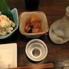 月夜のこころ。 - 料理写真:お通し、日替わりポテトサラダ(舞茸)