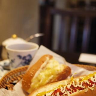 カフェ・ミエル - 料理写真:ホットドッグ