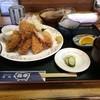 花亭 - 料理写真:イカフライとカキフライのセット