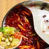 再来宴 - 料理写真:四川風火鍋セット