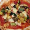 ダールフルット - 料理写真:オルトラーナ  ナス、ズッキーニの野菜ピザ