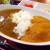 お好み焼・鉄板焼 大阪 - 料理写真:ダブルカレーセット(ポークカレーと肉団子のカレー)