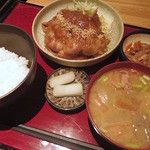 ばんざい - 生姜焼き定食