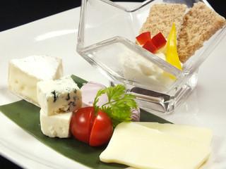 北の魚づくし - チーズの盛合せ