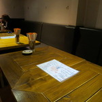 カフェ・ベリー - 木の温もりのある空間