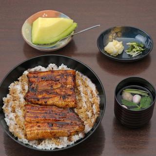 あつみ - 料理写真:上丼(二段丼) 4,650円