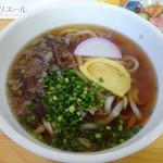 松川原 - 料理写真:「肉うどん」480円