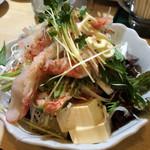 たつみ - 豆腐サラダ