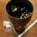 エンゾー - ドリンク写真:アイスコーヒー