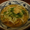 丸亀製麺 - 料理写真:定番の温かけうどん(中)(^O^)☆