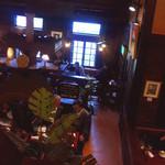 珈琲館 くすの樹 - 珈琲館くすの樹@西東京市 店内2Fから