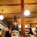 大衆割烹 三州屋 - 大瓶ビール730円