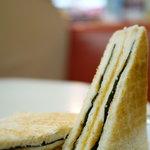 珈琲専門店 エース - のりトースト 120円