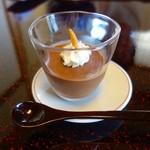 松濤館 - 【お茶菓子】料理長特製チョコレートムース
