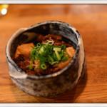 燻製と地ビール 和知 - 黒毛和牛すじ煮込 2014.11