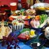 初月 - 料理写真:寒ぶりしゃぶの会席コース飲み放題付