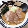 らーめん すすきの - 料理写真:味噌チャーシュー お子様ラーメン 餃子 半チャーハン 2014年11月