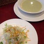 chez MACIO - 2014年10月27日 えんどう豆のスープ(だったかな?)