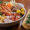 鳥元 - 料理写真:海鮮ちゃんこ鍋コース