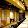 ちょうど - 内観写真:お座敷は半個室。人数によって仕切りをいれることが可能です。