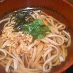 創作天ぷら いち - セットのお蕎麦