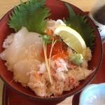 サガミ - 本ずわい蟹の北海丼