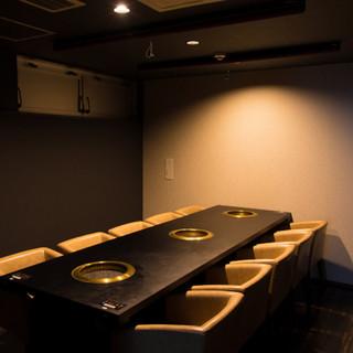 大事な一席はお任せください!VIPルーム完備