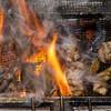 酒場あうん - 料理写真:【博多地鶏もも炙り焼き】炭の香りが食欲をそそる!