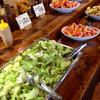 アランチーボ - 料理写真:サニーレタスとタマネギだけの野菜サラダ(^^;;
