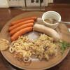 カサドール - 料理写真:チョリソーソーセージ(4本)とバイスブルスト(1本)の盛合せ