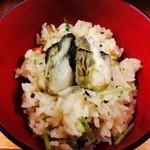 かき小屋フィーバー - 牡蠣ご飯