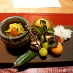 日本料理 虎白 - 料理写真:前菜