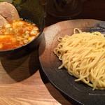 32279816 - 辛味つけ麺+味玉チャーシュー