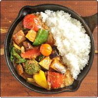 ①一日分の野菜カレー Fully-loaded VegetablesCurry