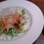 32283080 - ピリ辛棒棒鶏のサラダ