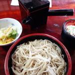 そば処 おおほり - もり蕎麦(¥700税込み)