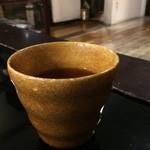 農民カフェ - 蓮茶