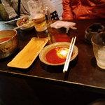 あぶさん - テーブルの様子