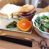 室生天然酵母パン Sizin - 料理写真:ランチBコース(本日のサンドイッチ、旬菜サラダ、飛鳥の恵み2種、飛鳥の果物、本日のデザート、食後の飲み物)1050円