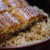 いづもや 船場 - 料理写真:上定食のうなぎ丼