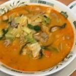 日高屋 - 料理写真:モツ野菜ラーメン