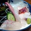 庄助 - 料理写真:2014.11 セットの刺身